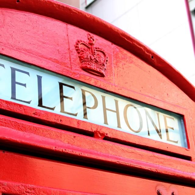Die Englische Telefonzelle