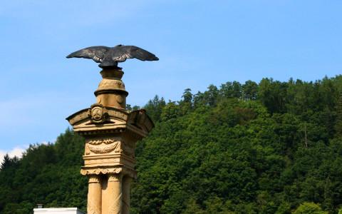 Das Kriegerdenkmal erinnert an die gefallenen Soldaten des deutsch-französischen Krieges 1870/71.