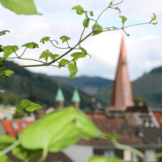 Innenstadt mit Christuskirche