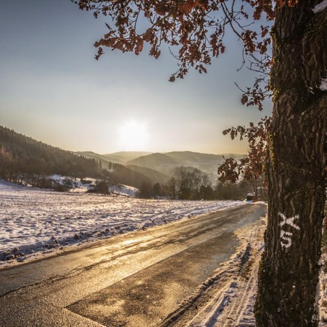 Winter in Plettenberg