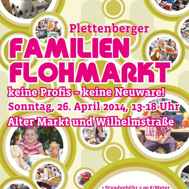 Flohmarkt-Plakat 04.2015