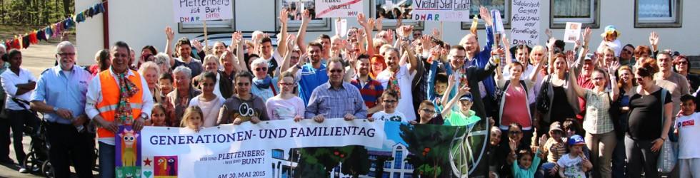 """""""Stricken für Toleranz"""" und """"Spazierengehen für Solidarität"""""""