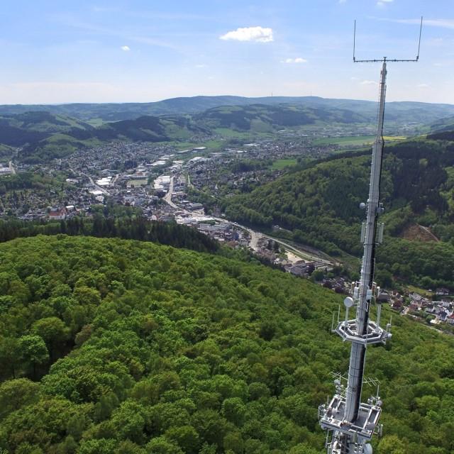 Plettenberg aus der Luft