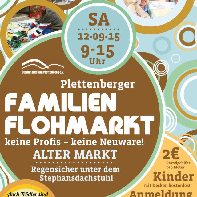 Plettenberger Familien-Flohmarkt im September 2015