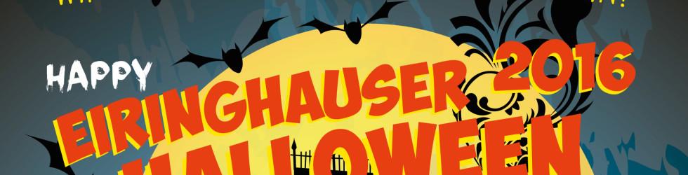 Na, die Woche fängt ja gut an: Halloween in Eiringhausen!