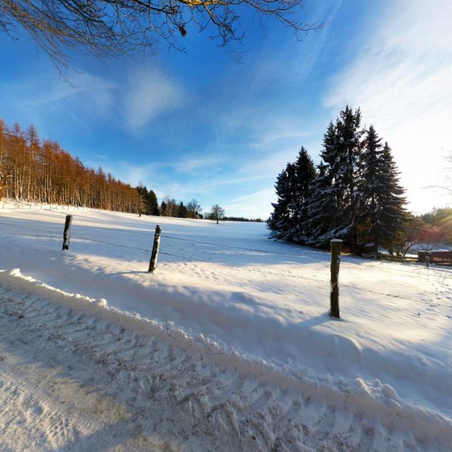 Winterpanorama Helfenstein