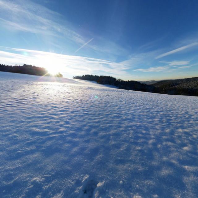 Winterpanorama Sonneborn