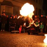 Feuershow von