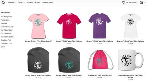 T-Shirts und Co. im