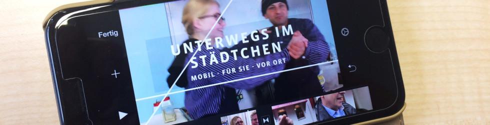 """Bewegte Bilder: """"Unterwegs im Städtchen"""""""