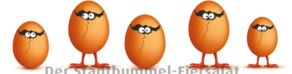 Mitmachen und Gewinnen beim Stadtbummel-Eiersalat!