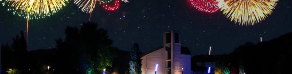 Plettenberger Waterkant mit Feuerwerk