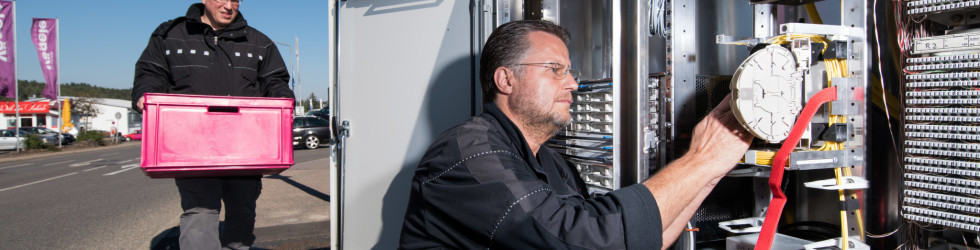 Infoflyer aller Ratsfraktionen für den geplanten Glasfaserausbau