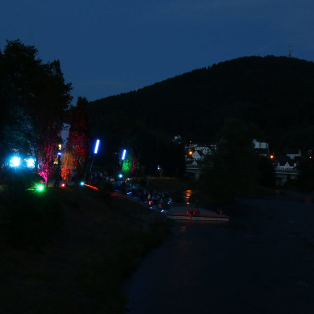 WaterkantbeleuchtetNacht